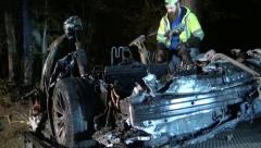 Tesla fatal crash killing two