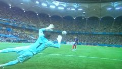 Swiss blick the penalty to go to quarter finals