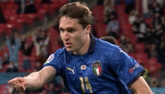 Substitute Passina's goal for Italy