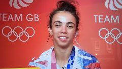 Chelsie Giles won Team GB's fist medal of the games  with Judo Bronze.