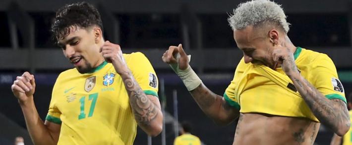 Paqueta's goal puts Brazil in Copa-America final