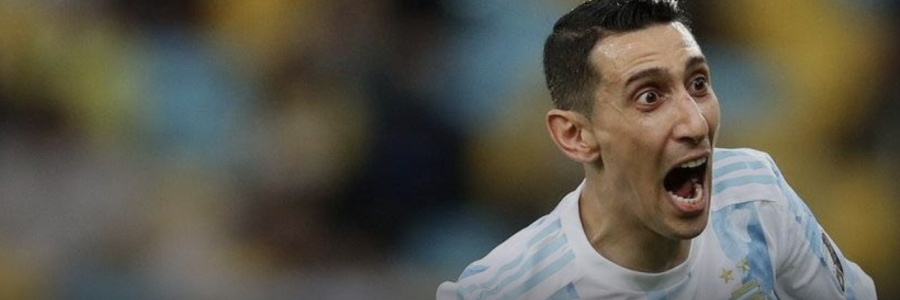 Angel Di Maria's goal helped Argentina to win the Copa America cup