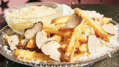 World' s most expensive gold dust French fries