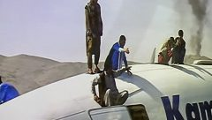 Afghans desperate to escape