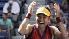 Emma RAducanu reaches US Open Semi-final 6-3, 6-4