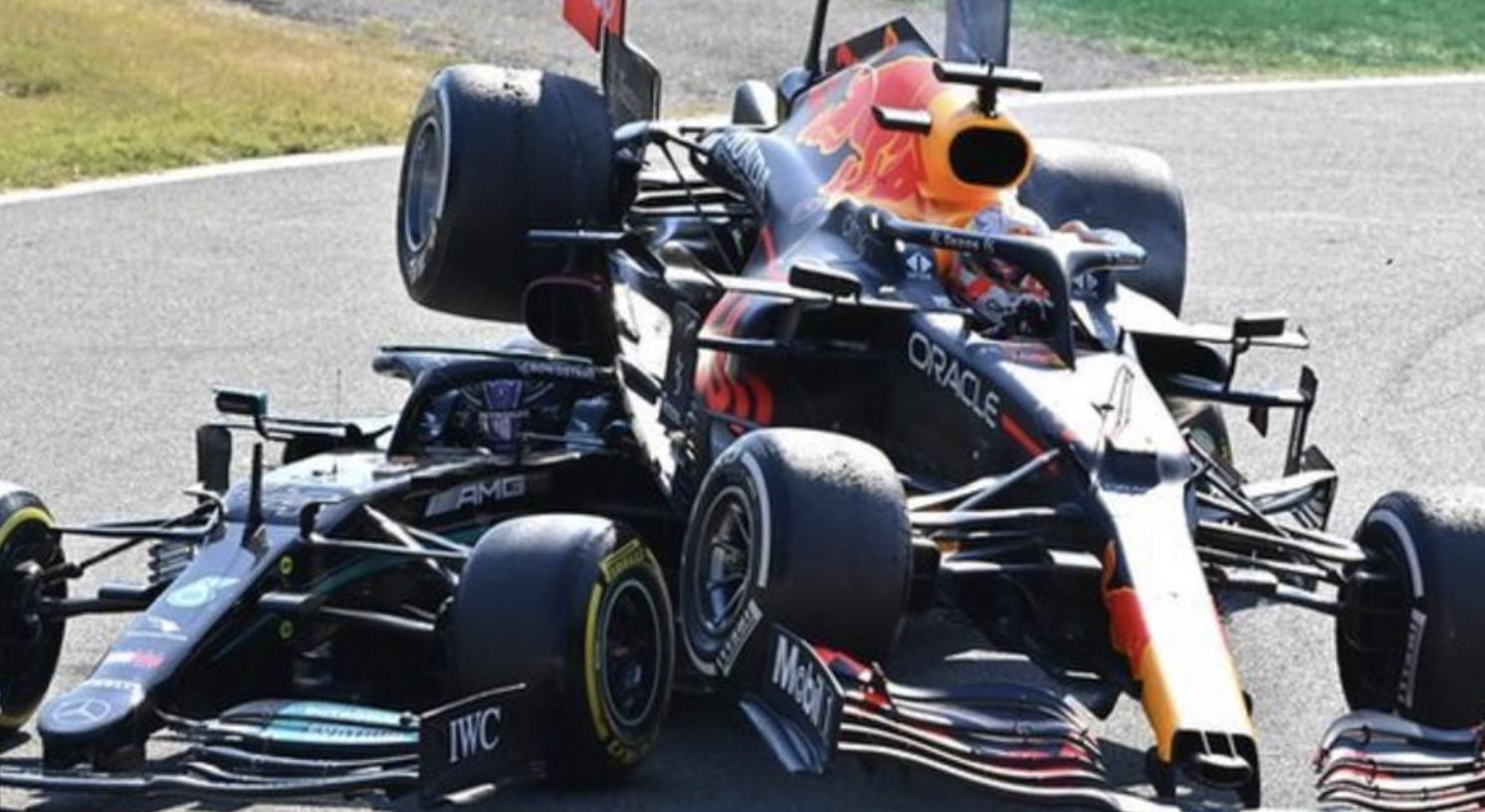 Italian Grand Prix crash