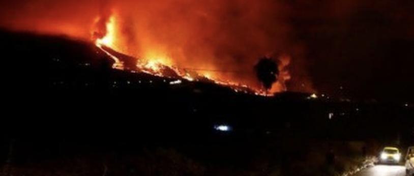 La Palma volcano eruptiojn